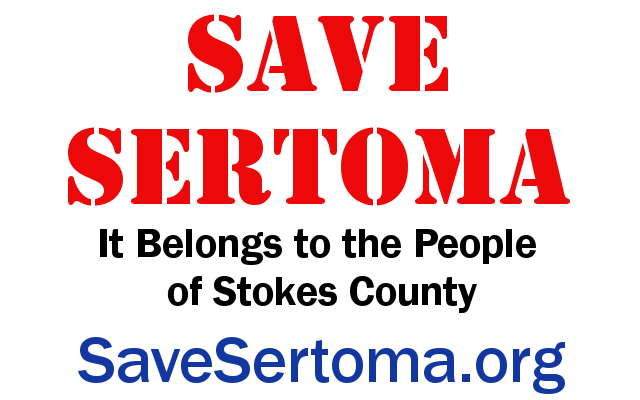 Save Sertoma Sign